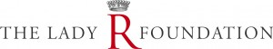 The Lady R Foundation logo and crown